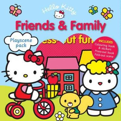 Hello Kitty Playscene Pack: Friends and Family by Sanrio