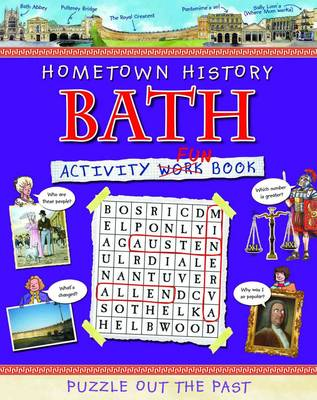 Bath Activity Book by Kath Jewitt