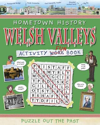 Welsh Valleys Activity Book by Kath Jewitt