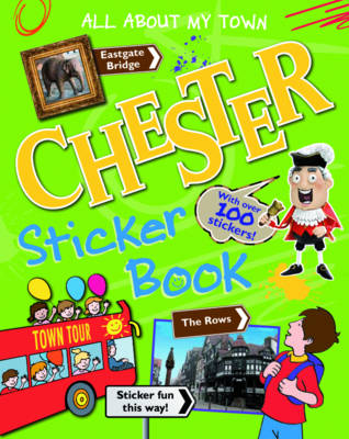 Chester Sticker Book by