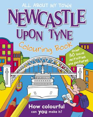 Newcastle Colouring Book by