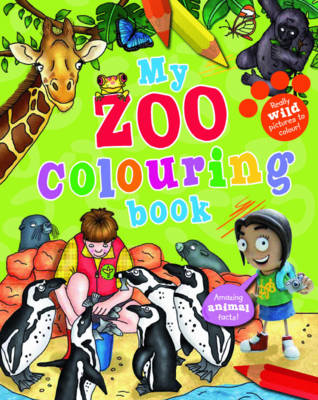 My Zoo Colouring Book by