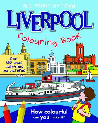 Liverpool Colouring Book by