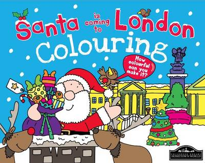 Santa is Coming to London Colouring by