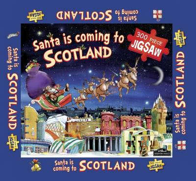 Scotland Santa Jigsaw by