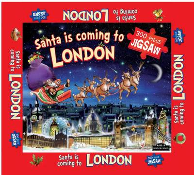 London Santa Jigsaw by