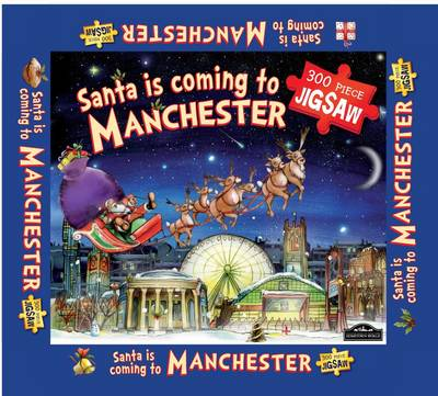 Manchester Santa Jigsaw by