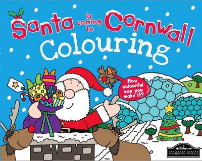 Santa is Coming to Cornwall Colouring by