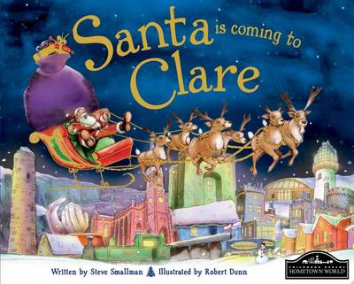 Santa is Coming to Clare by Steve Smallman