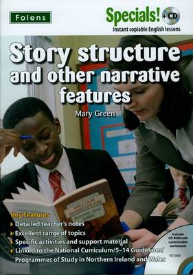 Secondary Specials! +CD: English - Story Structure by Mary Green
