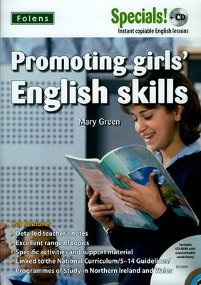 Secondary Specials! +CD: English - Promoting Girls' English Skills by Mary Green
