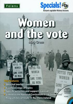 Secondary Specials! +CD: History - Women & the Vote by Mary Green