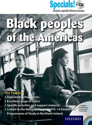 Secondary Specials! +CD: History - Black Peoples of the Americas by Mary Green