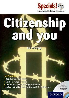 Secondary Specials! +CD: PSHE - Citizenship & You by Gill Murphy