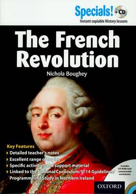 Secondary Specials! + CD : History - the French Revolution by Nichola Boughey