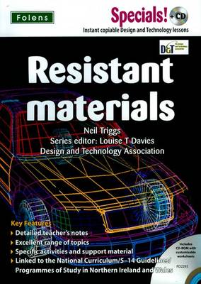 Secondary Specials! WITH CD: D&T - Resistant Materials by Neil Triggs