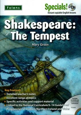 Secondary Specials! +CD: English - Shakespeare the Tempest by Mary Green