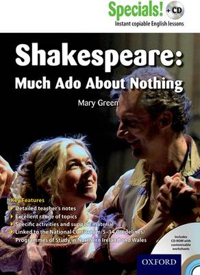 Secondary Specials! +CD: English - Shakespeare Much Ado About Nothing by Mary Green