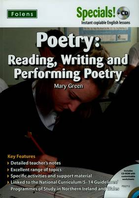 Secondary Specials! +CD: English - Poetry - FD2712 by Mary Green
