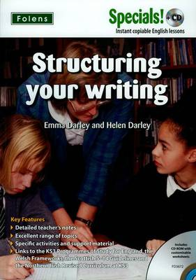 Secondary Specials! +CD: English - Structuring Your Writing by Emma Darley, Helen Darley