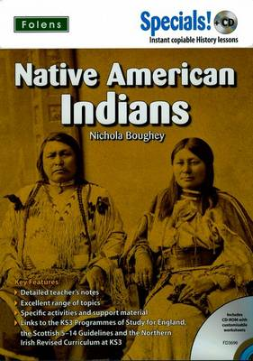 Secondary Specials! +CD History - Native American Indians by Nichola Boughey