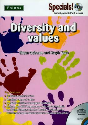 Secondary Specials! +CD: PSHE - Diversity and Values by Eileen Osborne, Stephanie Yates