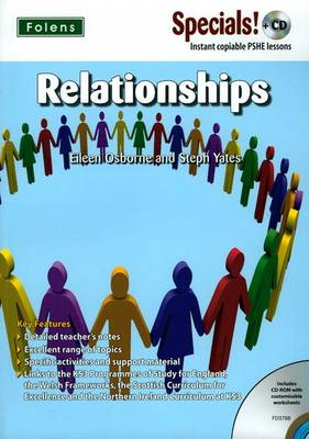 Secondary Specials! +CD: PSHE - Relationships by Eileen Osborne, Stephanie Yates