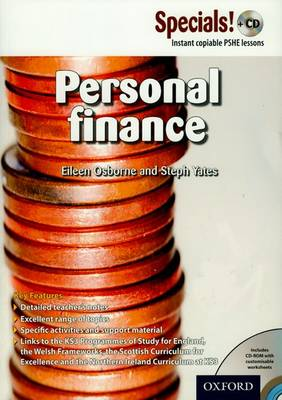 Secondary Specials! +CD: PSHE - Personal Finance by Eileen Osborne, Stephanie Yates
