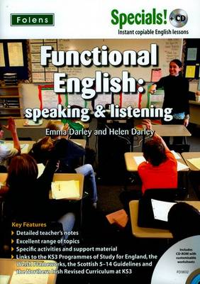 Secondary Specials! +CD: English - Functional English Speaking & Listening by Emma Darley, Helen Darley
