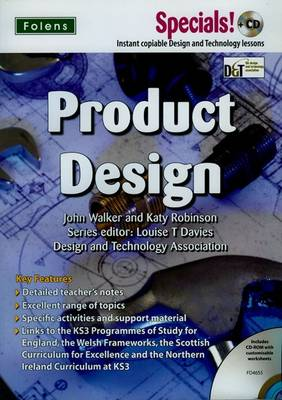 Secondary Specials! +CD: D&T - Product Design by Louise T. Davies, John Walker, Katy Robinson