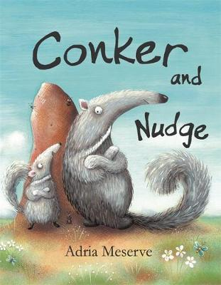 Conker And Nudge by Adria Meserve