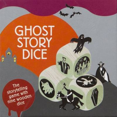 Ghost Story Dice The Storytelling Game with Nine Wooden Dice by Hannah Waldron