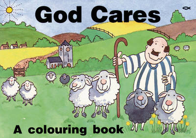 God Cares Colouring Book by Hazel Scrimshire