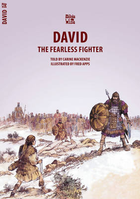 The Fearless Fighter David by Carine Mackenzie