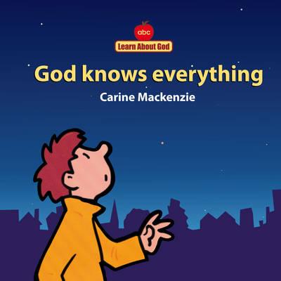 God Knows Everything Board Book by Carine Mackenzie