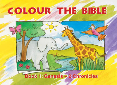 Colour the Bible Genesis - Chronicles by Carine MacKenzie