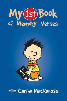 My First Book of Memory Verses by Carine Mackenzie