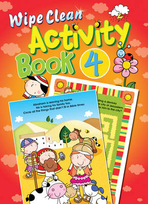 Wipe Clean Activity Book by Juliet David