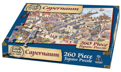 Look Inside the Bible - Jesus in Capernaum Jigsaw by Tim Dowley
