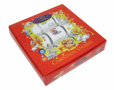 Candle Bible for Toddlers Christmas Sticker Gift Set by Juliet David