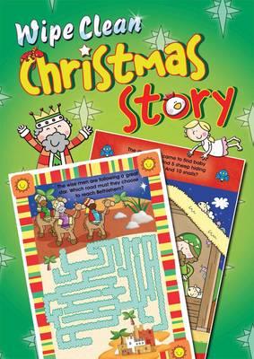 Wipe Clean Christmas Story by Juliet David