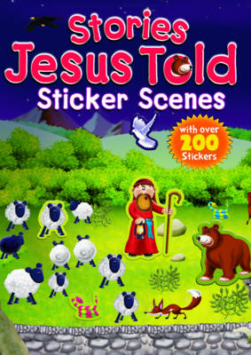 Stories Jesus Told Sticker Scenes by Juliet David