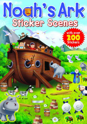 Noah's Ark Sticker Scenes by Juliet David