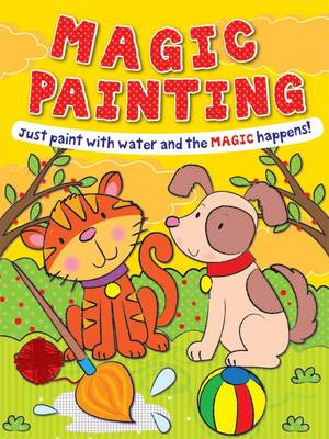 Magic Painting Cat and Dog Just Paint with Water and the Magic Happens! by Gemma Cooper