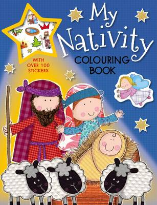 My Nativity Colouring Book by Lara Ede