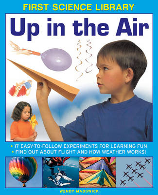 First Science Library: Up in the Air 17 Easy-to-follow Experiments for Learning Fun * Find out About Flight and How Weather Works! by Wendy Madgwick