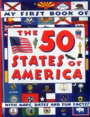 My First Book of the 50 States of America by Armadillo Press
