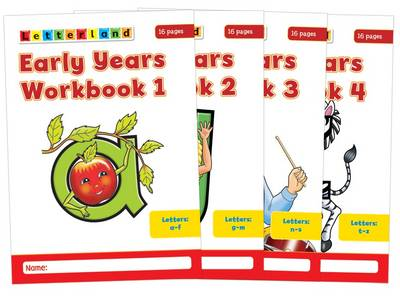 Early Years Workbooks by Louis Fidge, Lyn Wendon