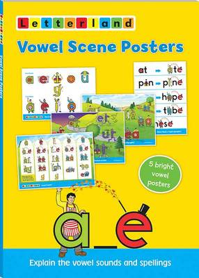 Vowel Scene Posters by Lyn Wendon, Verity Townend