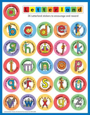 Letterland Merit Stickers by Lyn Wendon